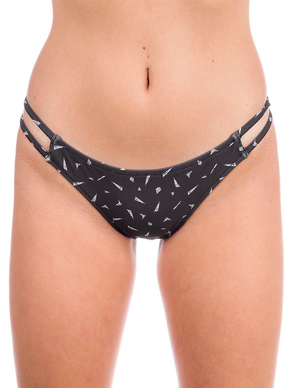 volcom geo thang hipster bikini bottom black