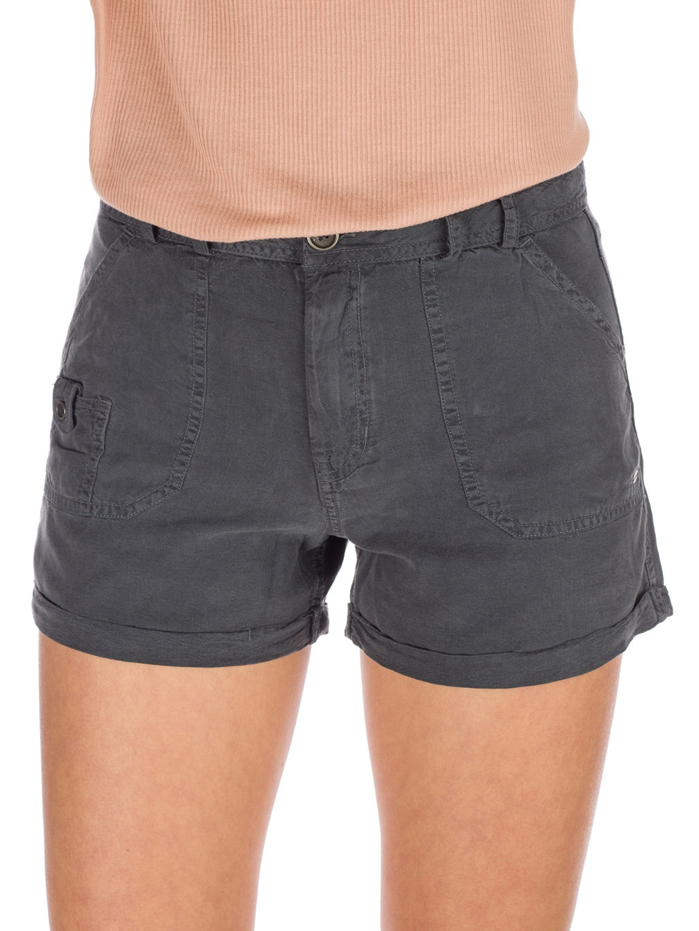 5 Pocket Drapey Shorts