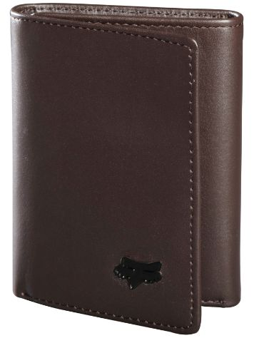 Fox Trifold Leather Wallet