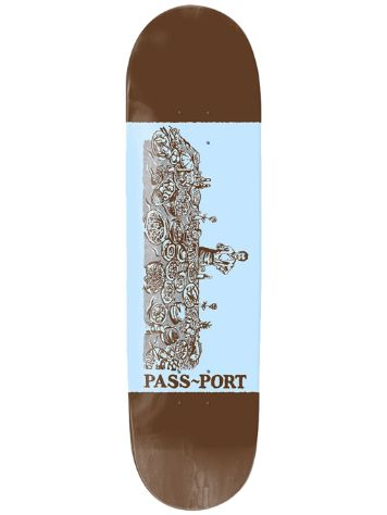 "Pass Port Chefs Best 8.25"" Skateboard Deck"