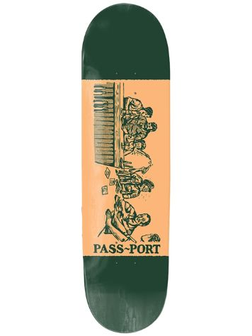 "Pass Port Night Shift 8.5"" Skateboard Deck"