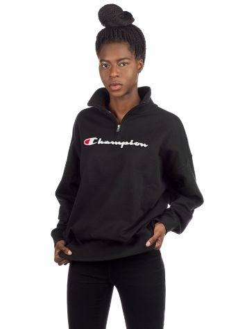 Champion American Logo Half Zip Sweater