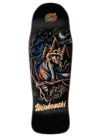 "Santa Cruz Winkowski Trash Panda 10.3"" Pre Issue Skateb"