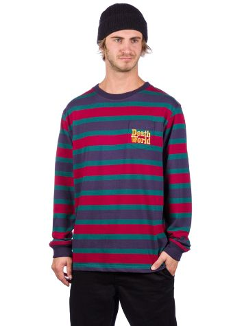 Deathworld Stripe Pocket Long Sleeve T-Shirt