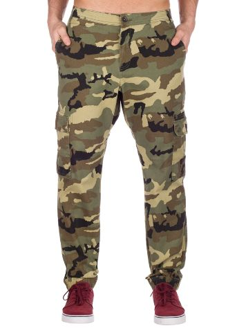 Empyre Freight Camo Cargo Twill Jogger Pants