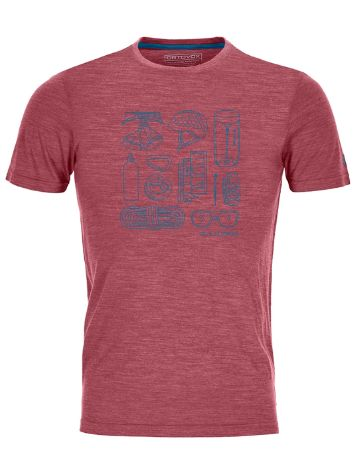 Ortovox 120 Cool Tec Puzzle Tech Tee