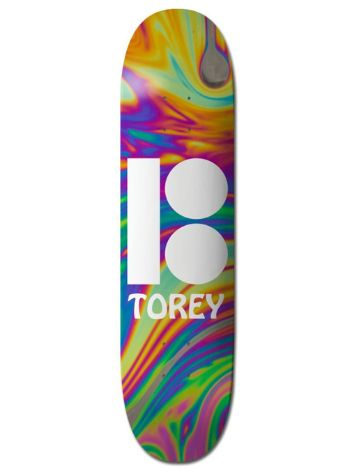 "Plan B Pudwill Wavy BLK ICE 8.125"" Skateboard Deck"