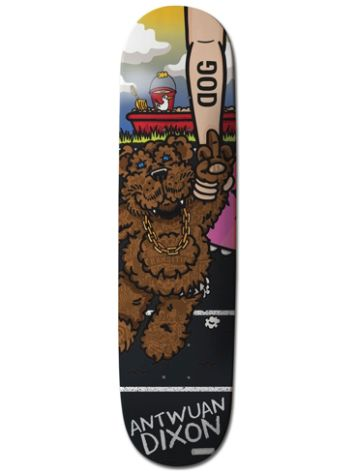 RAWDOGRAW Antwuan Stuffed 8.375'' Skateboard Deck