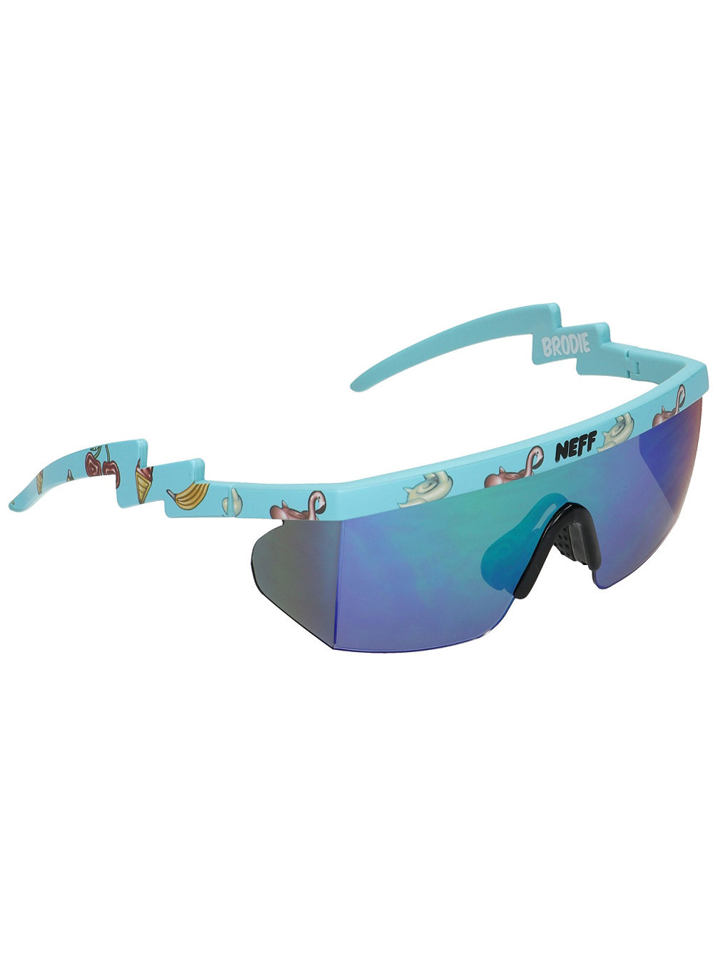 Brodie Single Lens Ice Hot Tub Party Sonnenbrille