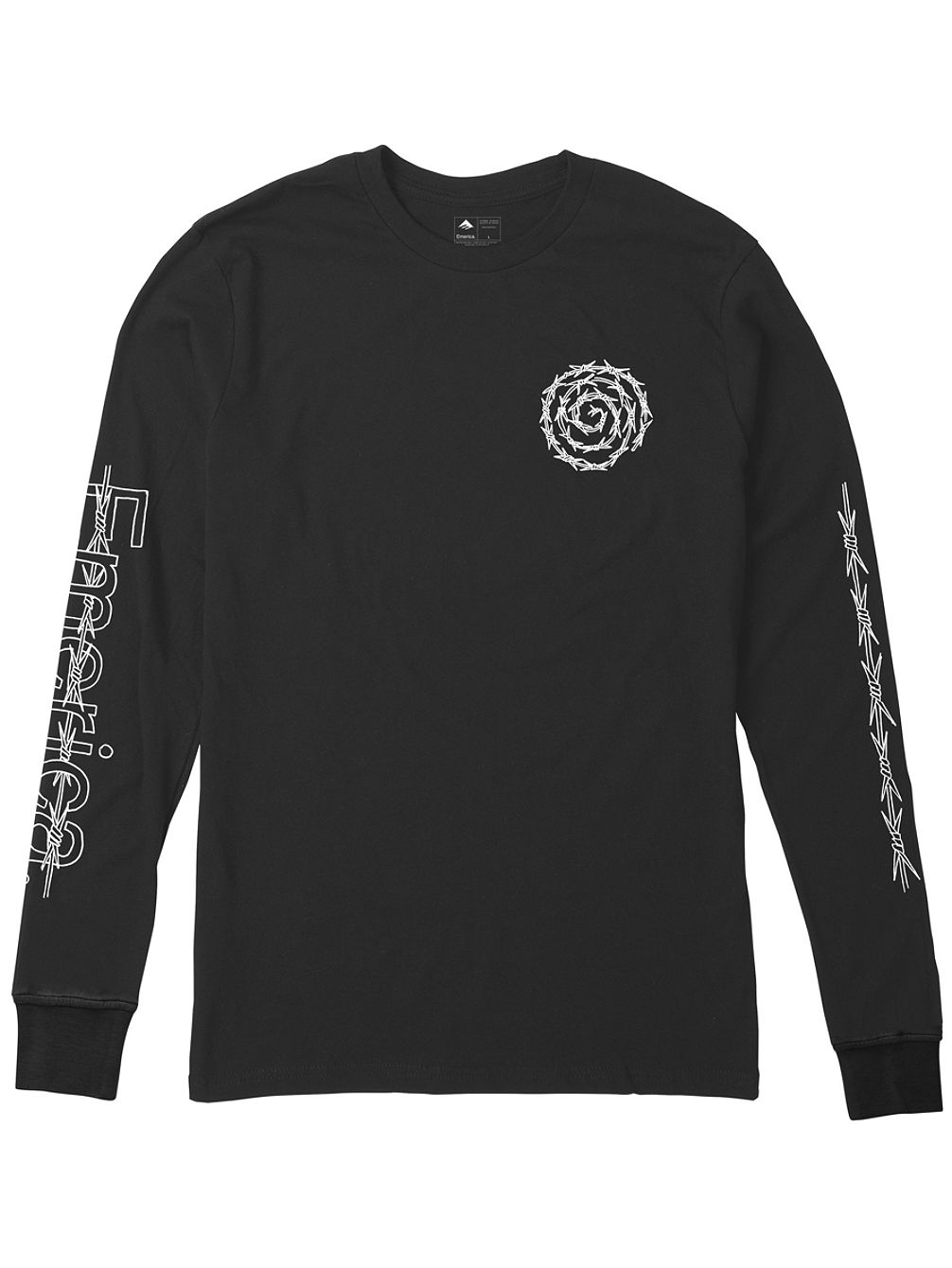adfce8be Buy Emerica Barbed Long Sleeve T-Shirt online at Blue Tomato
