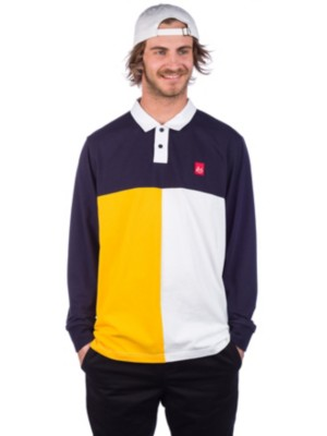 Es Split Polo Long Sleeve T-Shirt Preisvergleich