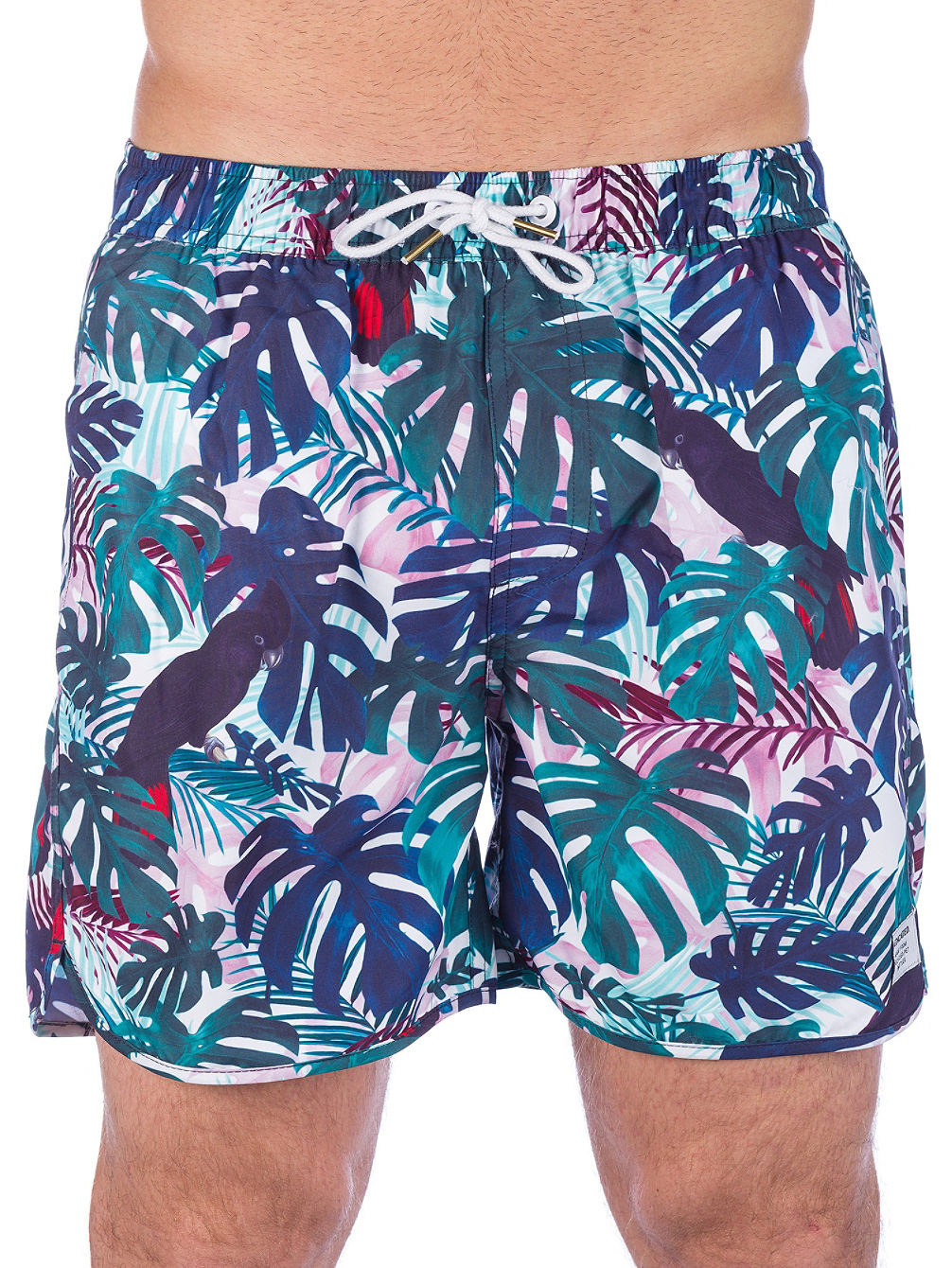 Color Leaves Boardshort