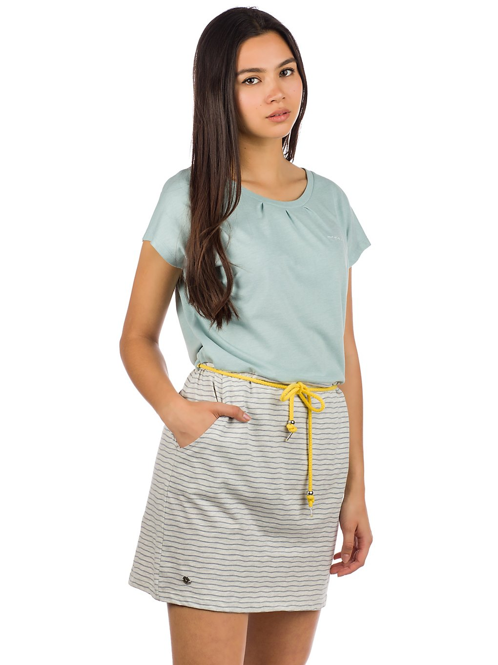 Mazine Agness Dress stripes