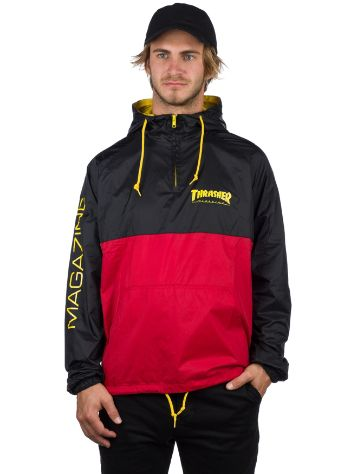 Thrasher Mag Logo Windbreaker