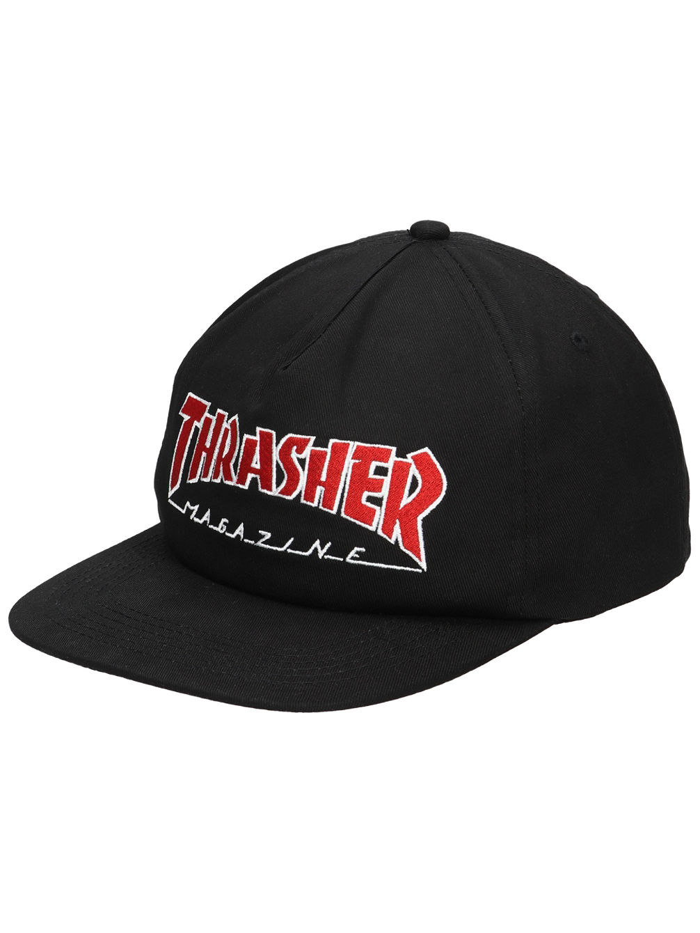 Outlined Snapback Cap