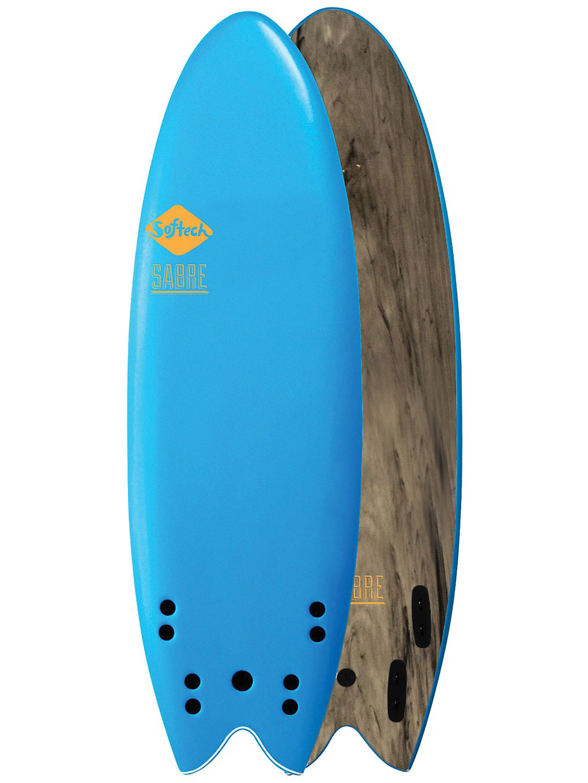 Softech Sabre FCS II 5'4 blue