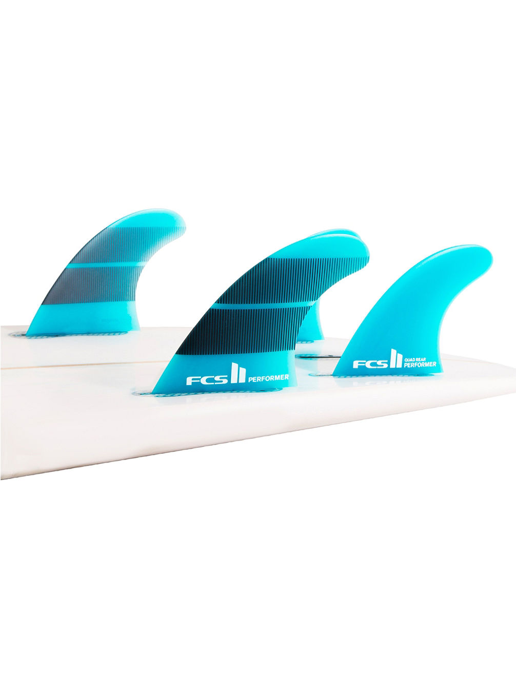 II Performer Glass Quad Fin Set