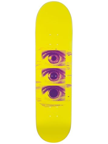 "Favorite Tripping Yellow 8.1"" Skateboard Deck"
