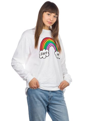 Salem7 Shut Up Rainbow Langarmshirt