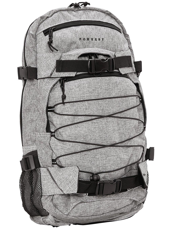 Image of Forvert Melange Louis Backpack grey melange Uni