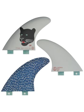 Captain Fin Dane Reynolds Medium FCS 4.55 TT Set Quillas