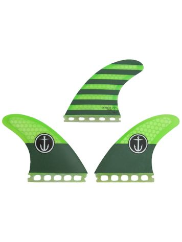 Captain Fin CF-Medium Futures 4.55 ST Fin Set