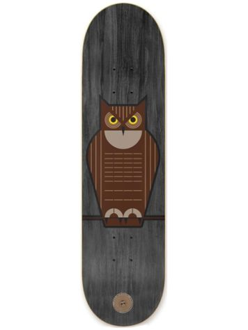 Habitat Mirtain Horned Owl 8.375 Skateboard Deck