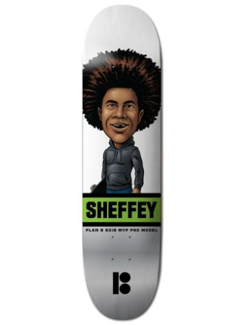 Plan B Sheffey Mvp 8.0 Skateboard Deck