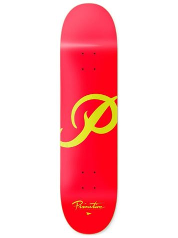 Primitive Classic P Red Gold 8.125 Skateboard Deck