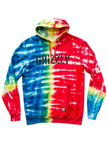 Grizzly Acid Stamp Sudadera con capucha
