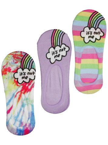 Jac Vanek It's not me 3 pack Socks