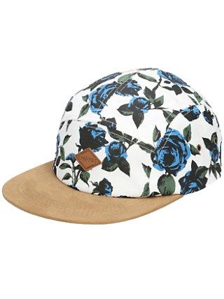 Blue Rose 5 Panel Cap
