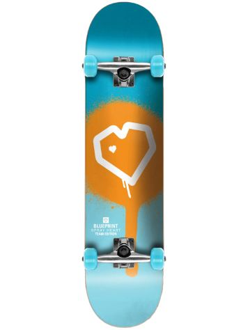 "Blueprint Spray Heart 7.875"" Complete"