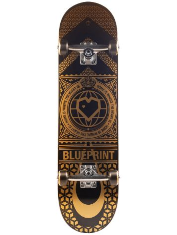 "Blueprint Home Heart 8.0"" Skateboard"