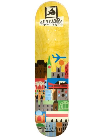 "Cliché Travel 8.125"" Skateboard Deck"