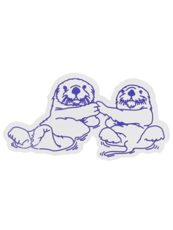 Danson Otter Love Sticker