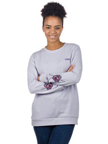 b4e26cb64a5 Vans Paradise Floral Crew Sweater