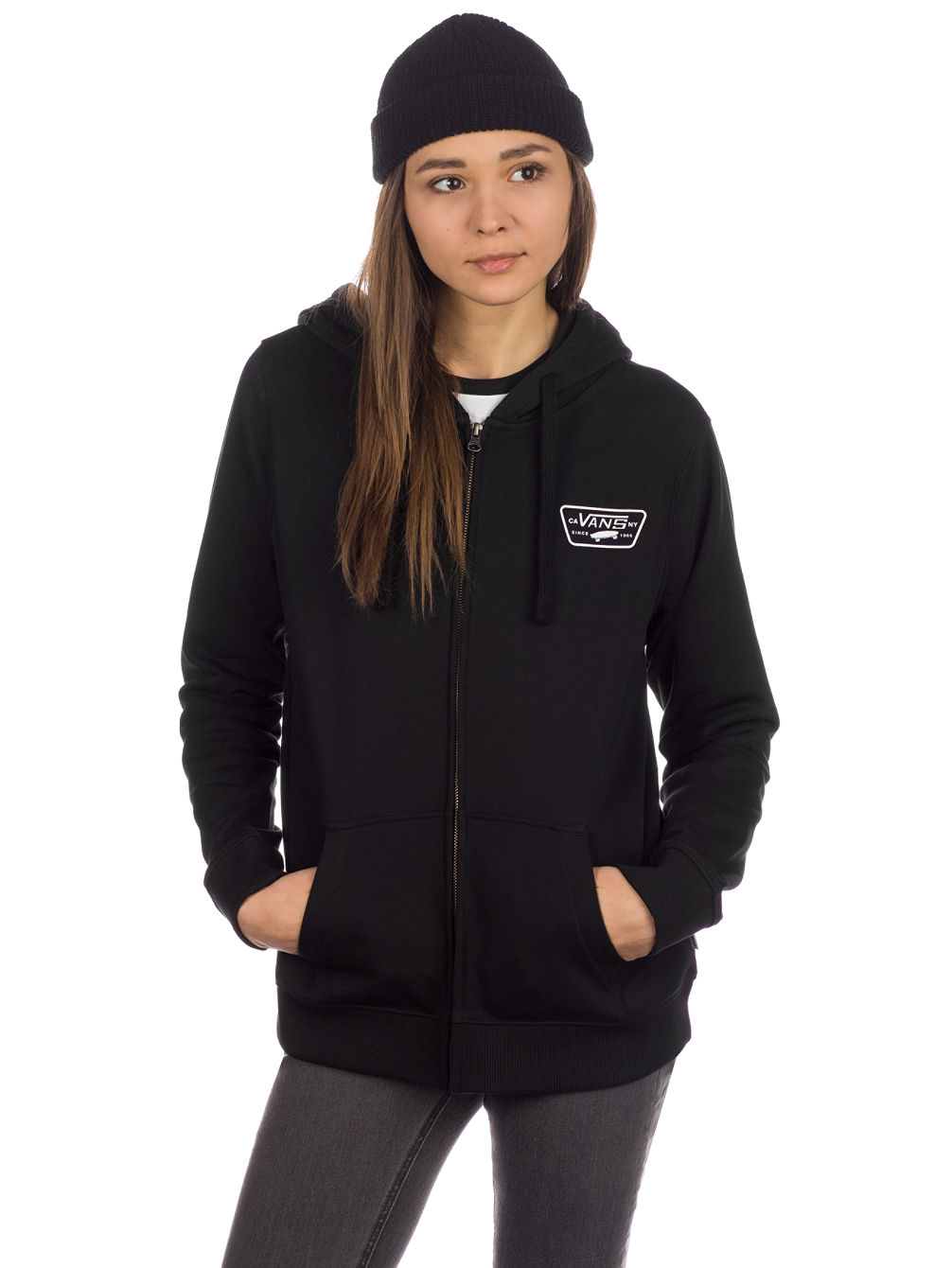 a77ecd49ab34ed Buy Vans Full Patch Classic Zip Hoodie online at Blue Tomato