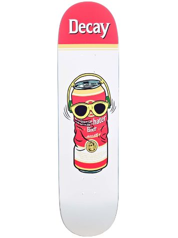 "Decay Hater 8.125"" Skateboard Deck"