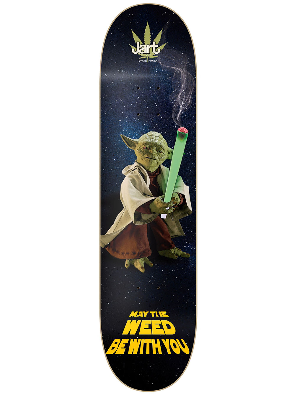 "Weed Nation Yoda LC 8.0"" Deck"