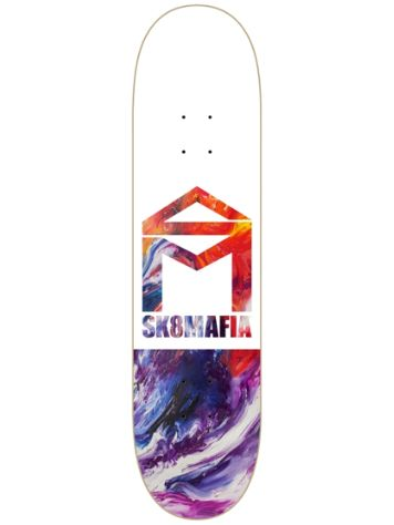 SK8 Mafia House Logo Oil Low 8.0'' Skateboard Deck