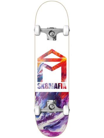 "SK8 Mafia House Logo Oil Low 8.0"" Complete"