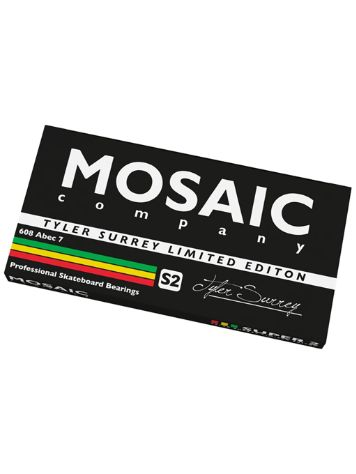 Mosaic Super 1 Tyler Surrey Abec 7 L.E. 608RS Black