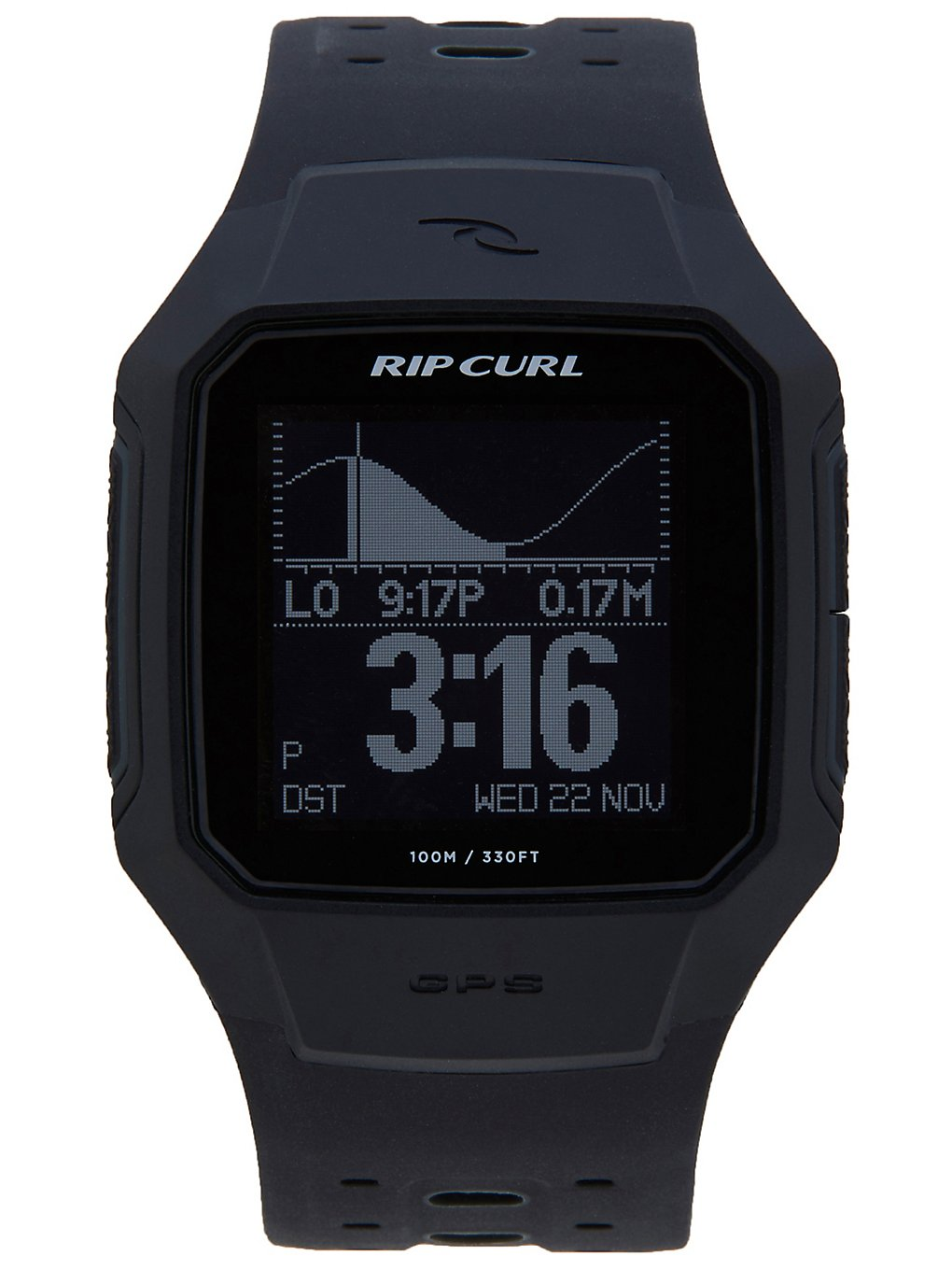 Rip Curl Search GPS Series 2 Watch black