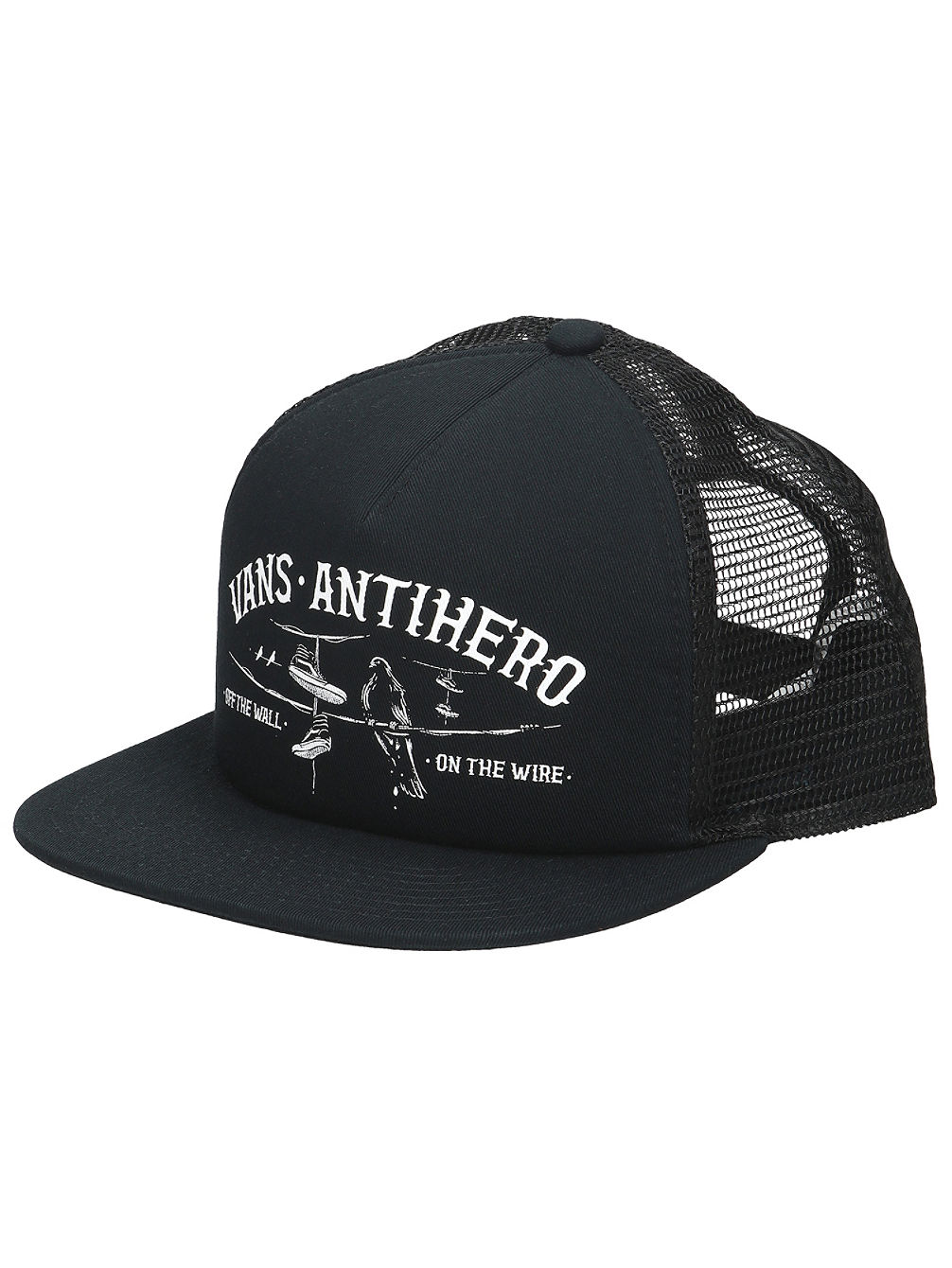 36d3fa9f460 Buy Vans X Antihero Wired Trucker Cap online at blue-tomato.com