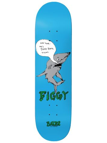 Baker Figgy Fish Talk 8.475 Skateboard Deck