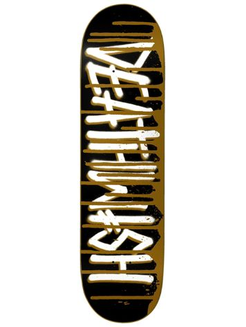 Deathwish Deathspray Drip Gold 8.0 Skateboard Deck