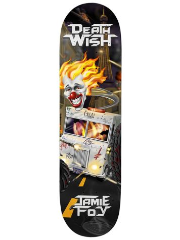 Deathwish Foy Metal Mayhem 8.25 Skateboard Deck