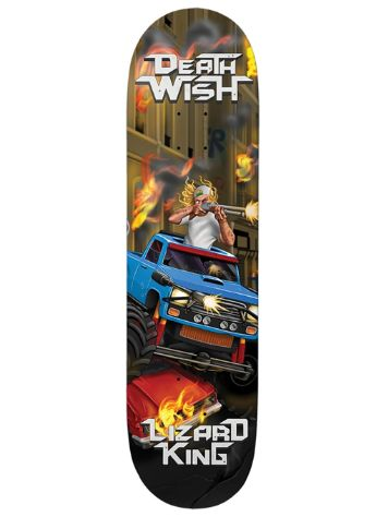 Deathwish Lizard Metal Mayhem 8.125 Skateboard Dec