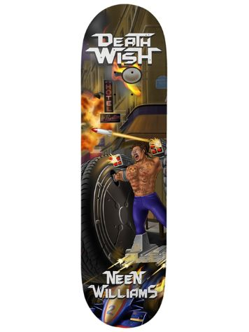 Deathwish Neen Metal Mayhem 8.0 Skateboard Deck